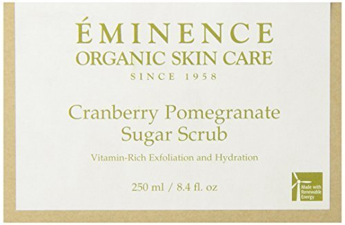 Eminence Cranberry Pomegranate Sugar Scrub by Eminence Organic Skin Care (Organic Pomegranate Cranberry Eminence)