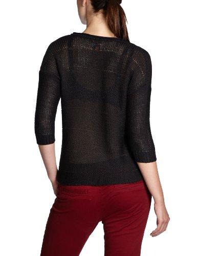 ONLY Damen Pullover 15067650/BOBBY DEEP V-NECK KNIT PULLOVER, V-Ausschnitt Schwarz (Black)