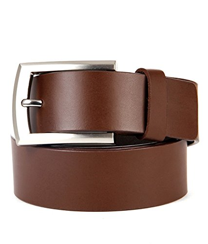 Walletsnbags Leather Formal Mens Belt Brown