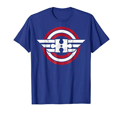 Autism Shirt Captain Autism Shield T-Shirt