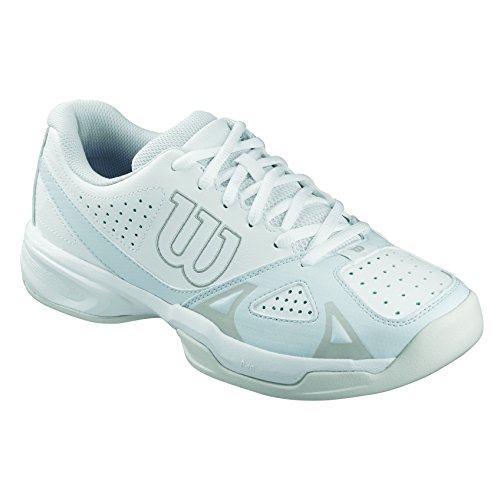 Open para 2 W Rush Gray Blanco Steel White de Zapatillas Wil 0 Grey Mujer Wilson Tenis Ice TwqRf5Uq