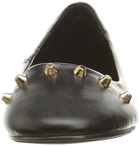 Callisto Women's Eaden Ballet Flat Black Leather FkGoHcW