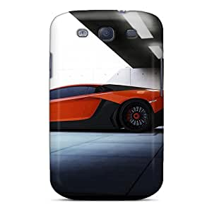 LuckyBecky Fashion Protective Lamborghini Aventador Limited Edition Case Cover For Galaxy S3