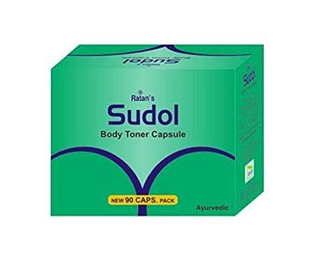 Sudol Body Toner Capsules Pack of 90 Capsules Chyawanprash & Herbal Formulations at amazon