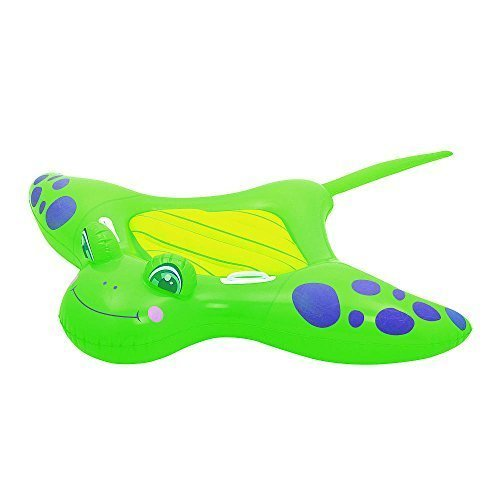 Sizzlin Cool Manta Ray Ride-on pool float  Age 3+