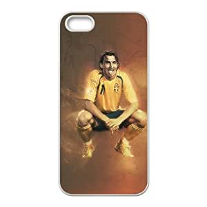 Zlatan Iphone 4 4S Cell Phone Case White 218y-083626