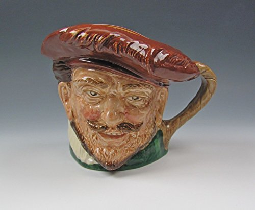Doulton Large Character Jug - Royal Doulton DRAKE WITH HAT D6115 Large Character Jug Excellent