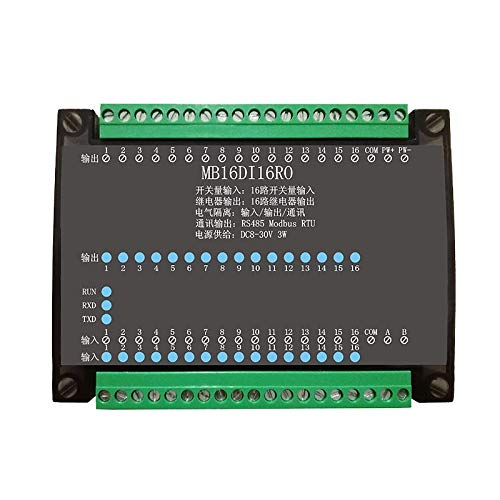 - SHAPB 16DI/16RO 16 Road Digital Isolation Input Module 16 Channel Relay Output Data Acquisition Control Board RS485 Modbus Module