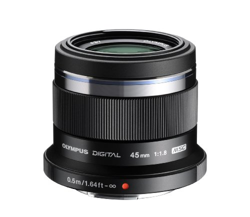 Olympus M.ZUIKO Digital ED 45mm F1.8 (Black) Lens for Olympus and Panasonic Micro 4/3 (Olympus Imaging Kit)