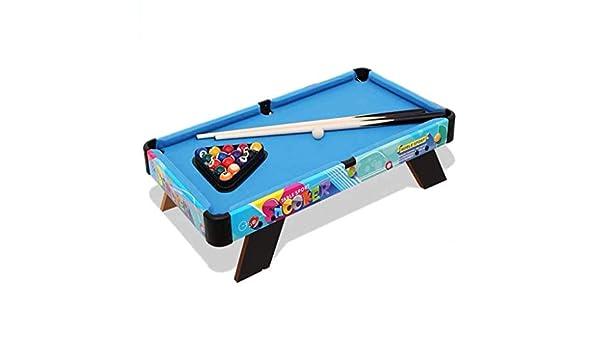 YUHT Mesa de Billar Junior para niños con Tacos de Bolas de Billar ...