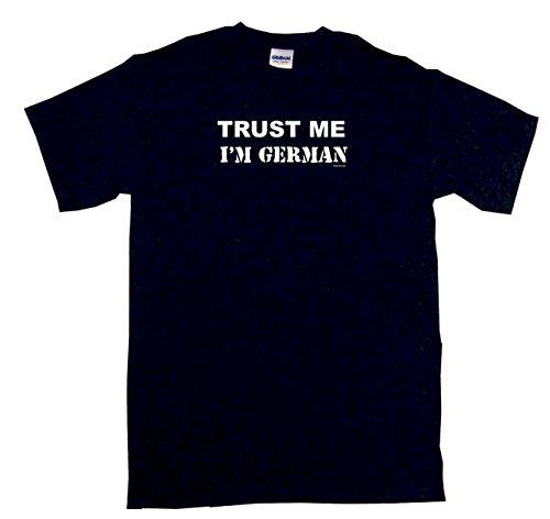 Trust Me I'm German Men's Tee Shirt 4XL-Black (Trust Me Im German)