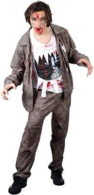 Wicked - Disfraz de zombi de halloween para hombre (HM-5512m ...