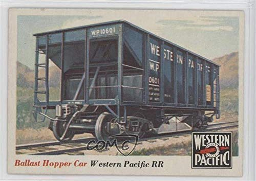 Ballast Hopper Car (Trading Card) 1955 Topps Rails and Sails - [Base] #29 ()