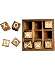 Toyvian 1 Set Tic Tac Toe Game for Kids and Family Board Games 3D Travel of Living Room Decor and Coffee Table Games Decor Family Games Night Classic Board