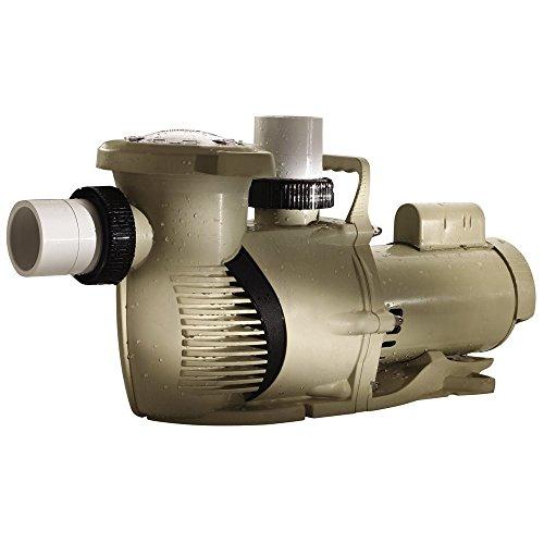 Pentair 022011 WhisperFloXF High Performance Energy Efficient Single Speed Full Rated Pool Pump, 5 Horsepower, 208-230 Volt, 1 Phase