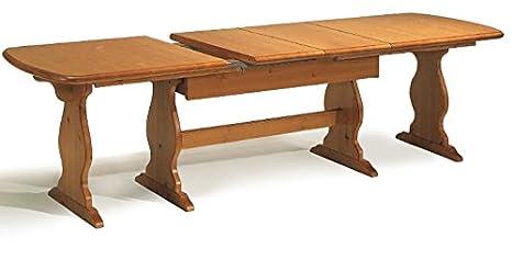 Arredamenti Rustici Tavolo fratino allungabile da 160 a 250 in legno ...