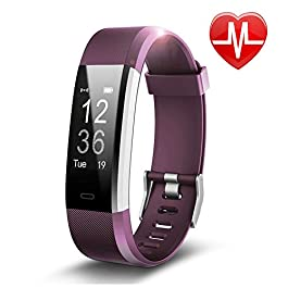Letsfit Fitness Tracker HR, Activity Tracker Watch with Hear...