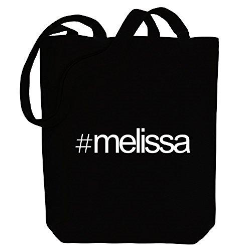 Idakoos Hashtag Melissa - Weibliche Namen - Bereich für Taschen