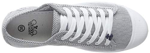 Blu Sneaker 02 Shinny strip Cerises Des Basic Le Strip Shinny Donna Temps wHq40