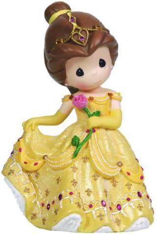 Precious Moments, Disney Showcase Collection, Girl As Belle , Rotating, Resin Music Box, 124106