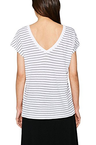 ESPRIT, Camiseta para Mujer Multicolor (Medium Grey 5 039)