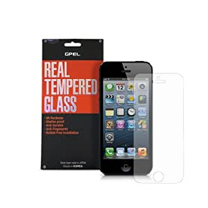 GPEL Real Tempered Glass Shield Screen Protector for Apple iPhone 5 / 5s (Japan and Korean Manufacturer)