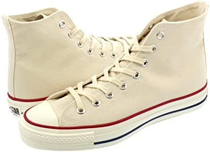 CANVAS ALL STAR J HI NATURAL WHITE 【MADE IN JAPAN】