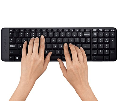 Logitech Wireless Keyboard and Mouse Combo MK220 Spanish Ver