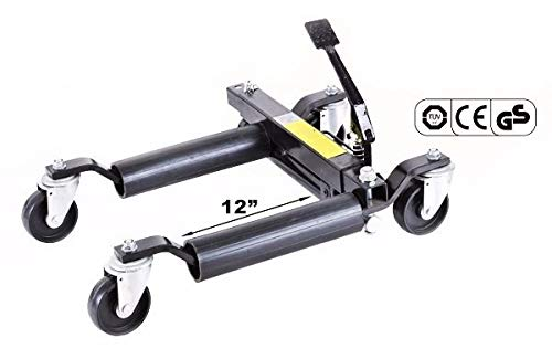 Stark Set of (4) Wheel Dolly Car Skates Vehicle Positioning Hydraulic Tire Jack Truck Rv Trailer Pick Up Dolly Ratcheting Foot Pedal, 1500LBS by Stark USA (Image #5)