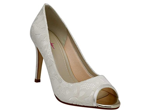 Shoes Lace Peep Bridal Toe Rainbow Club Noni Classic 7nSRnUHx