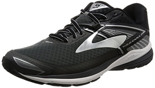 Brooks Men's Ravenna 8 Anthracite/Silver/Black 10 D US