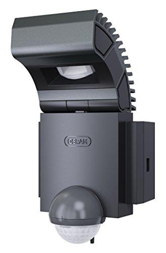 OSRAM Noxlite Spot LED Außenlampe mit Bewegungsmelder und Dämmerungssensor / Kühlkörper aus hochwertigem Aluminium / 8W, 6000K - kaltweiß, anthrazit
