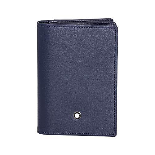 Montblanc Business Card Case, Marine Blue (Blue) - 114554