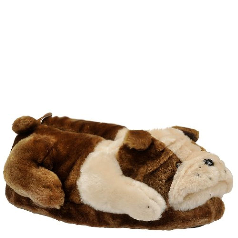 Happy Feet - Bulldog - Animal Slippers - Small