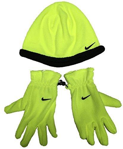 Costumes Ideas For Toddler Boys (Nike Toddler Boys Winter Fleece Hat Beanie Cap Gloves Set Sz 4/7)