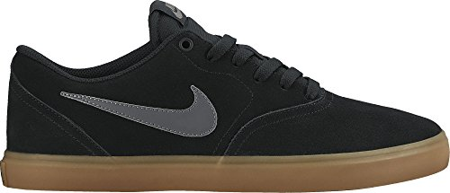 NIKE Men's SB Check Solar Black/Anthracite/GM Dark Brown Skate Shoe 10 Men US/11.5 Women (Mens Nike Sb)