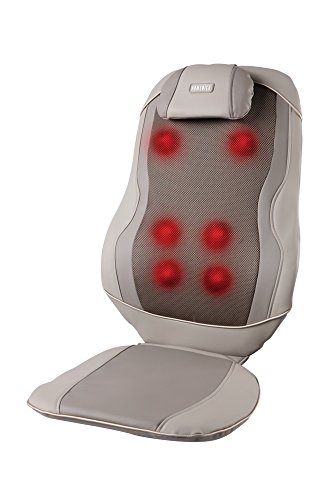 HoMedics Triple Shiatsu Pro 3D Kneading Massage Cushion with Heat