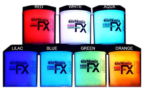 7 Color Set of 1oz Glow in The Dark Paint, Luminous, Glowing for $<!--$35.99-->
