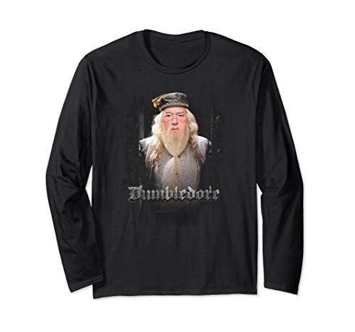 Long Sleeve Doors - Harry Potter Dumbledore Dumble Doors Longsleeve T Shirt
