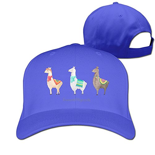 Aiguan 3 Llamas Cap - Special 100% Cotton Hat ()