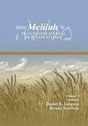 Melilah: Manchester Journal of Jewish Studies, 2012