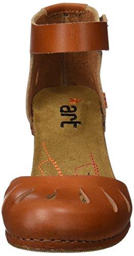 Cinturino Art alla Cuero Sandali Donna Marrone 0144 con i Meet Caviglia Mojave aBYxaqH