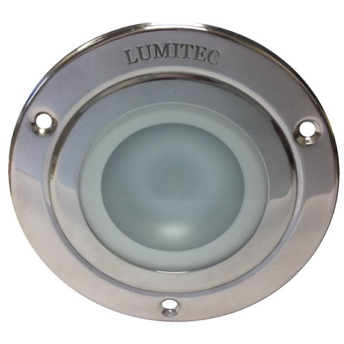 - Lumitec Lighting 114110 Shadow Polished Housing White Dimming Light, Red Non-Dimming/Blue Non-Dimming/Purple Non-Dimming