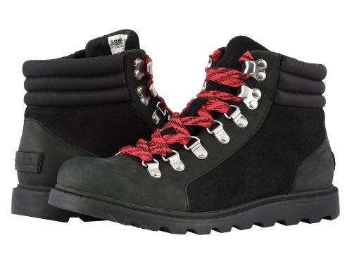 SOREL(ソレル) レディース 女性用 シューズ 靴 ブーツ レースアップブーツ Ainsley(TM) Conquest - Black Full Grain Leather [並行輸入品] B07H82FWCB 5.5 B - Medium