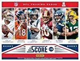 400 Card NFL Football Gift Set including cards from the past 10 years including a bonus factory sealed pack of 2014 Score NFL Stickers - w/ Superstars, Hall of Fame Players, and many Rookie Cards that span last 25 years! Any football collector will enjoy