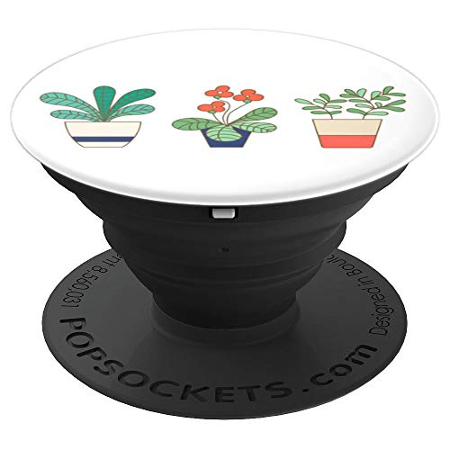 Jade and Fronds Plant Trio | Plant Lovers Gift - PopSockets Grip and Stand for Phones and Tablets