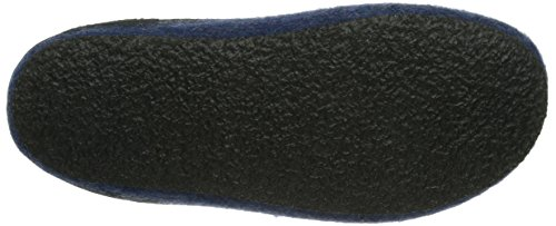 Stegmann 127, Unisex Adults' Open Back Slippers Blue (8813 Jeans)
