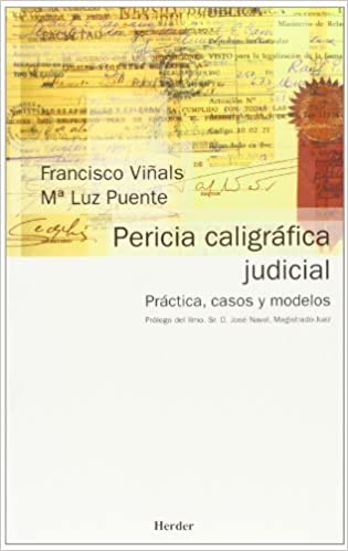Book Pericia caligrafica judicial (Spanish Edition) by Francisco Vinals (2001-04-01)