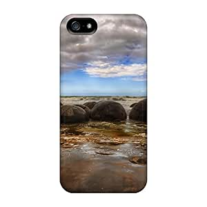 Iphone 5/5s Cases Covers - Slim Fit Protector Shock Absorbent Cases (stone Society)