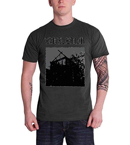 Phantasm Men's Burzum Aske T-Shirt, Gray, - Jacket Phantasm